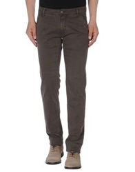 Met Casual Pants Dark Brown