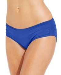 Coco Reef Ruched Hipster Bikini Bottom Women's Swimsuit Ocean