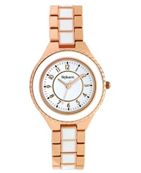 Style And Co. Watch Women's Two Tone Bracelet 39Mm Sc1320