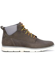 Timberland Lace Up Ankle Boots Grey