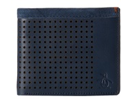 Original Penguin Hector Leather Wallet Dress Blues Wallet Handbags Navy