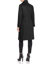 Cinzia Rocca Icons High Collar Coat Black