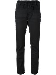 Diesel Drawstring Fastening Trousers Black