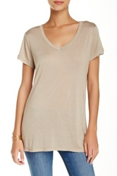 14Th And Union V Neck Tee Brown