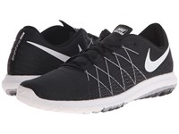Nike Flex Fury 2 Black Wolf Grey Dark Grey White Men's Running Shoes