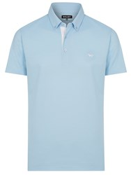 Wolsey Self Collar Pique Polo Sky