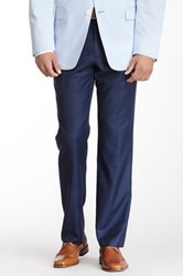 Tommy Hilfiger Tyler Blue Sharkskin Wool Dress Pant 30 34 Inseam
