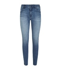 Armani Jeans J20 High Waist Female Blue