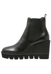 Kennel Schmenger Wedge Boots Schwarz Black