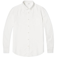 Sunspel Button Down Oxford Shirt White