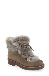 Arturo Chiang Women's 'Philippa' Genuine Rabbit Fur Hiking Boot