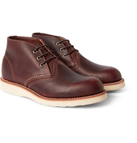 Red Wing Shoes Chukka Rubber Soled Leather Boots