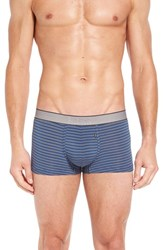 Boss Men's Modal Blend Trunks Medium Blue