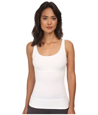 Yummie Tummie Pearl Tank Top White Women's Sleeveless