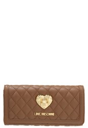 Love Moschino Wallet Camel