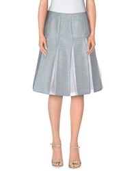 Tonello Skirts Knee Length Skirts Women Sky Blue