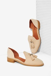 Nasty Gal Open Case Suede Flat