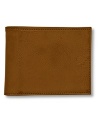 Buxton Wallet Baja Rfid Blocking Faux Leather Billfold Reddish Br