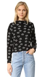 Milly Shooting Stars Sweater Black