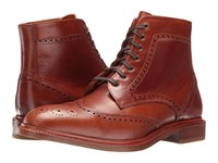 Crosby Square Conroy Espresso Suede Men's Lace Up Boots Brown