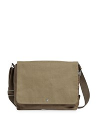 Skagen Eric Twill Heather Messenger Bag Olive