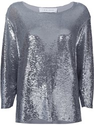Iro Sequin Embellished Blouse Metallic