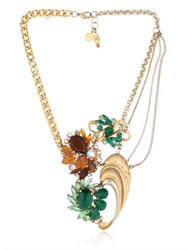 Maria Zureta Green And Amber Necklace