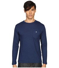 Todd Snyder Double Face Jersey Long Sleeve Indigo