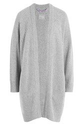 81 Hours By Dear Cashmere Merino Wool Cardigan Grey