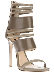 Ruthie Davis Strappy Stiletto Sandal Grey