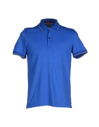 Cooperativa Pescatori Posillipo Topwear Polo Shirts Men Blue