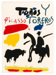 Olympia Le Tan 'Picasso Toreros' Book Clutch Nude Neutrals