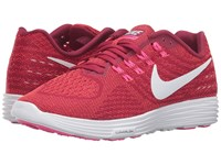 Nike Lunartempo 2 Noble Red White Bright Crimson Pink Blast Women's Running Shoes