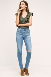 Anthropologie Ag Sophia Ultra High Rise Skinny Jeans 20 Years Classic Vintage