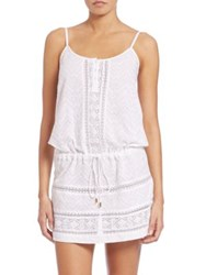 Melissa Odabash Melly Cotton Coverup White