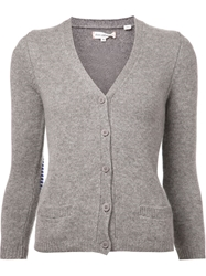 Chinti And Parker Classic Cardigan Grey