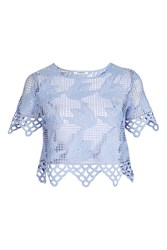 Glamorous Crochet T Shirt By Blue