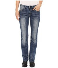Rock And Roll Cowgirl Mid Rise Bootcut In Medium Vintage W1 7367 Medium Vintage Women's Jeans Blue
