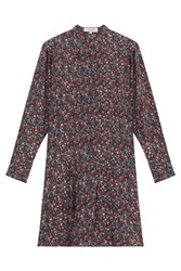 Paul And Joe Floral Print Silk Tunic Dress