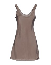Maliparmi Dresses Short Dresses Women Light Brown