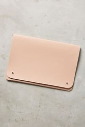 Anthropologie Vegan Leather Tech Case Nude