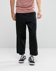 Dr. Denim Dr Melvin Cropped Leg Chino Black