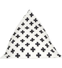 Wildfire Teepees Cross Cotton Pyramid Bean Bag 73Cm