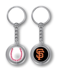 Aminco San Francisco Giants Spinning Baseball Key Ring Team Color