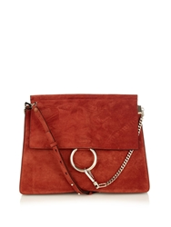 Chloe Faye Suede Shoulder Bag
