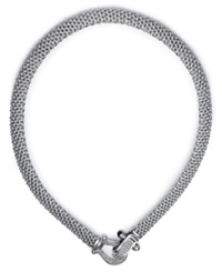 Macy's Diamond Mesh Necklace In Sterling Silver 5 8 Ct. T.W.