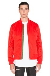 Black Scale Lewis Jacket Red