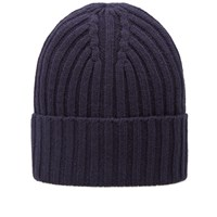 Gant Rugger Ribbed Beanie Blue