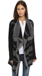 Ella Moss Disco Starlight Robin Cardigan Black