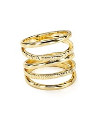 Jules Smith Designs Jules Smith Textured Cage Ring Yellow Gold